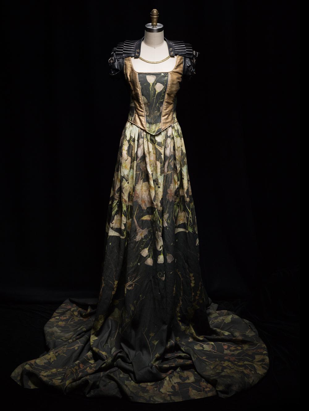 The Gown, Print on Belgium Linen