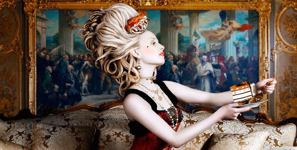 Detail - Marie Antoinette - Alexia Sinclair - 2005