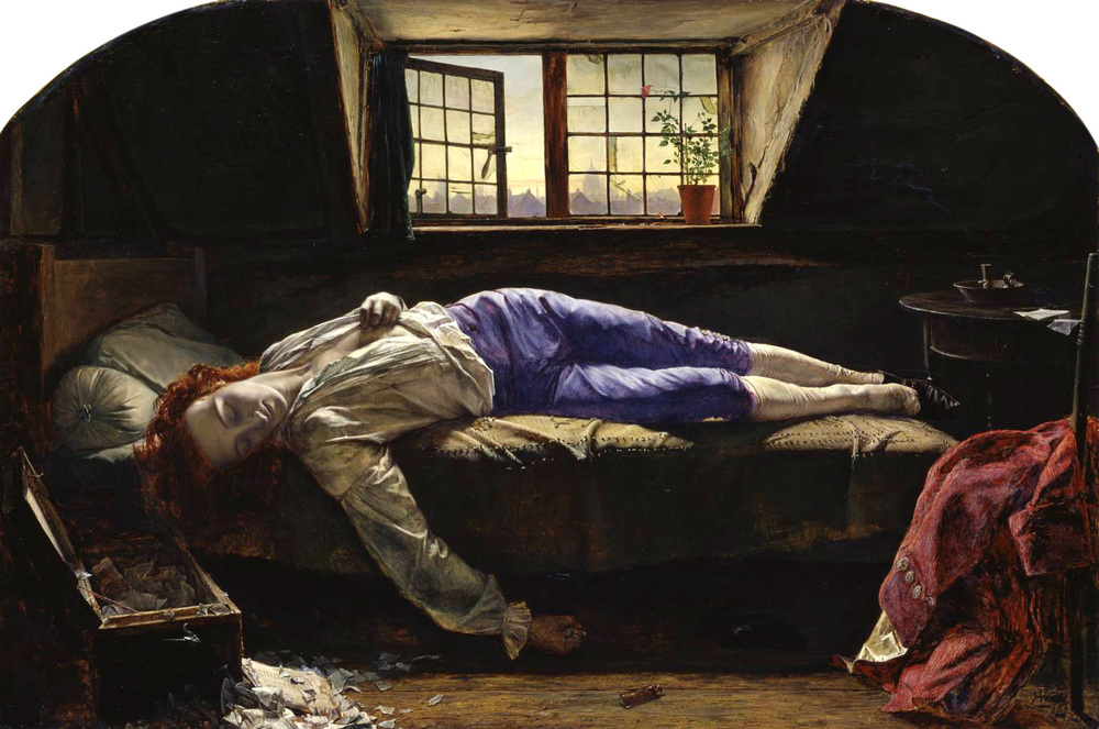 The Death of Chatterton - Henry Wallis
