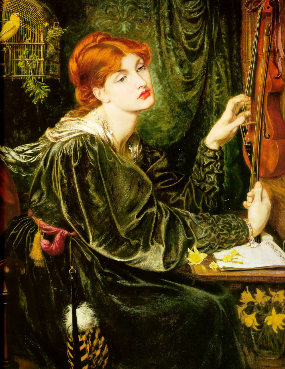 Veronica Veronese - Dante Gabriel Rossetti