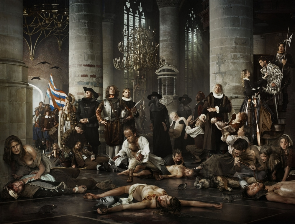 Erwin Olaf - Liberty - Plague and Hunger during the Siege of Leiden